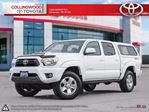 2015 Toyota Tacoma V6 4X4 DOUBLECAB MANUAL TRD WITH CAP in Collingwood, Ontario