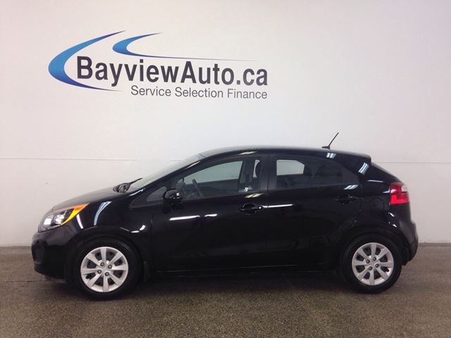 2014 KIA RIO LX- 6 SPEED! A/C! HEATED SEATS! BLUETOOTH! CRUISE! in Belleville, Ontario