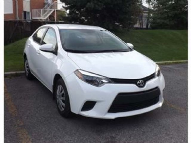 2015 TOYOTA COROLLA CE Auto Excess Wear&Tear in Mississauga, Ontario