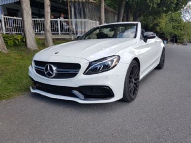 2017 Mercedes-Benz C-Class 63 S AMG Cabriolet, Premium & AMG Night Packages in Mississauga, Ontario