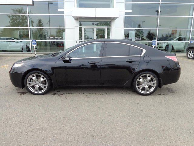 2013 ACURA TL Elite - Heat+A/C Leather Int,Nav,B/U Cam+Sunroof! in Red Deer, Alberta