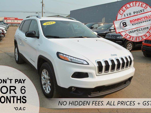 2015 JEEP CHEROKEE NORTH, UNDER 90,000KMS in Bonnyville, Alberta