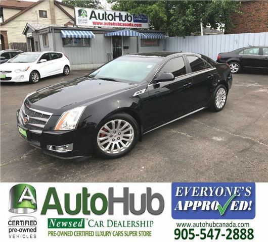 2010 CADILLAC CTS AWD-LEATHER-SUNROOF in Hamilton, Ontario