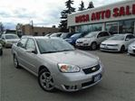 2007 Chevrolet Malibu 4dr Sdn LTZ  LEATHER SEATS V6  NO ACCIDENTS CHROME in Oakville, Ontario
