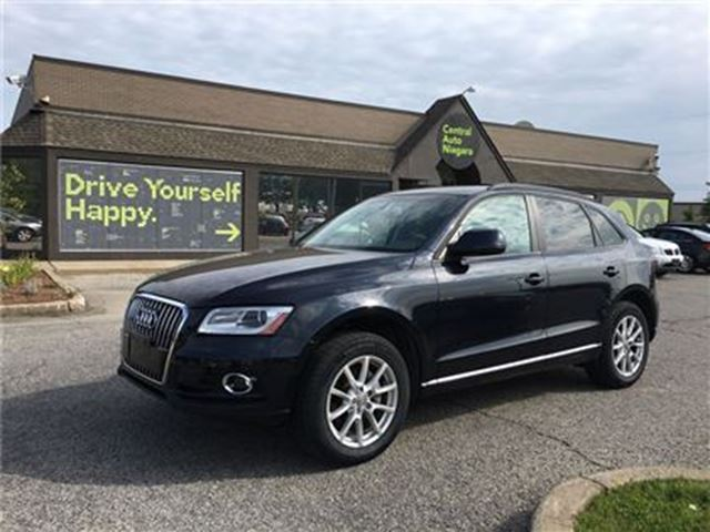 2013 AUDI Q5 AWD / LEATHER / POWER -LIFT GATE in Fonthill, Ontario