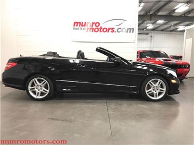 2011 Mercedes-Benz E-Class SOLD SOLD SOLD E550 Cabriolet V8 Low Kms in St George Brant, Ontario