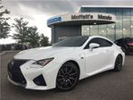 2015 Lexus RC F RC F PERFORMANCE PKG RED LEATHER in Barrie, Ontario