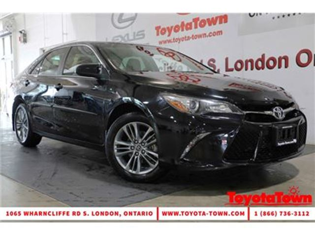 2015 TOYOTA Camry SINGLE OWNER SE in London, Ontario
