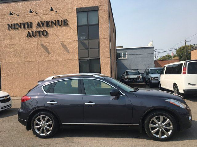 2008 INFINITI EX35 Luxury 4dr All-wheel Drive, leather, one owner in Calgary, Alberta