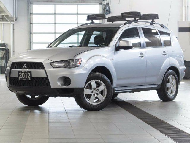 2012 MITSUBISHI OUTLANDER ES 4WD w/Heated Seats in Kelowna, British Columbia