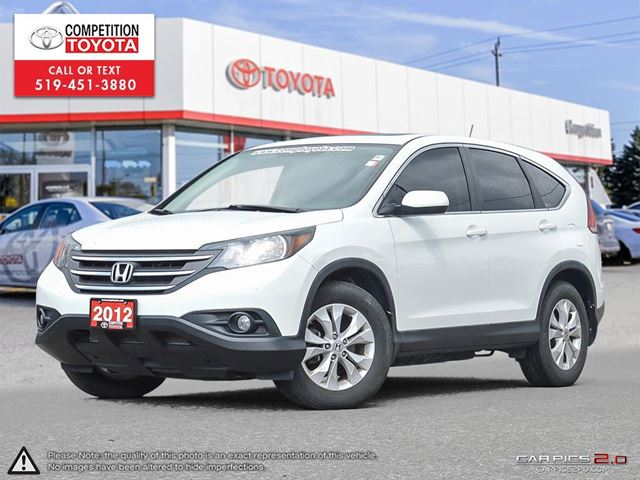 2012 HONDA CR-V EX One Owner, No Accidents in London, Ontario