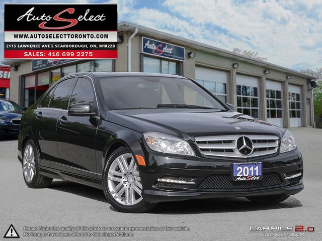 2011 MERCEDES-BENZ C-CLASS 4Matic C250 AWD ONLY 94K! **NOT A MIS-PRINT** SPORT PKG in Scarborough, Ontario