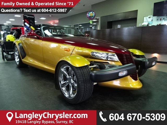 2002 CHRYSLER PROWLER Base *ACCIDENT FREE* 2  OWNER*LOCAL BC CAR* in Surrey, British Columbia