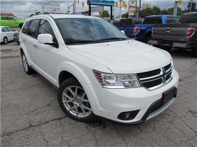 2017 DODGE JOURNEY GT   AWD   7 PASSENGER   LEATHER   SAT RADIO in London, Ontario