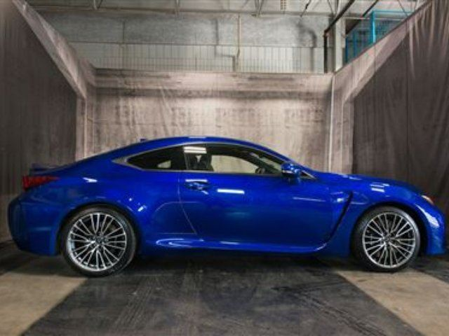 2015 LEXUS RC F NAV/LEATHER/5.0 in Calgary, Alberta