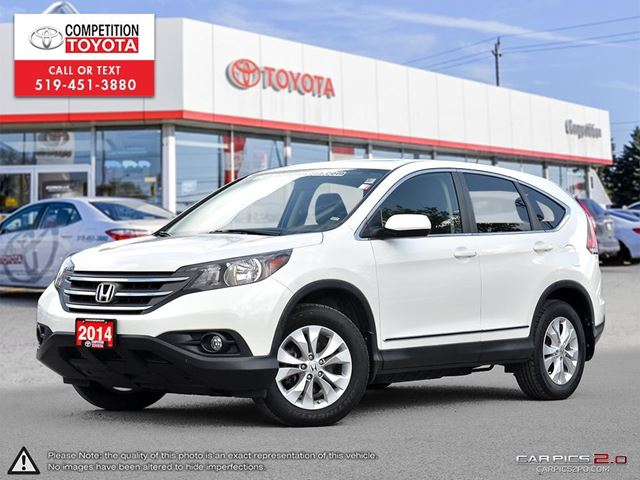 2014 HONDA CR-V EX One Owner, No Accidents in London, Ontario