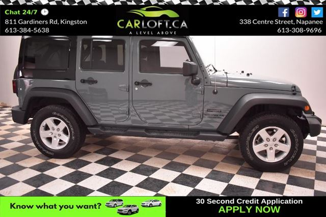 2015 JEEP WRANGLER Unlimited SPORT 4X4-BLUETOOTH*TINTED WINDOWS*CRUISE in Kingston, Ontario