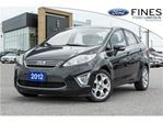 2012 Ford Fiesta SEL - MOONROOF & HEATED SEATS! in Bolton, Ontario