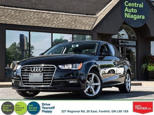 2016 AUDI A3 Komfort / QUATTRO / LEATHER / SUNROOF in Fonthill, Ontario