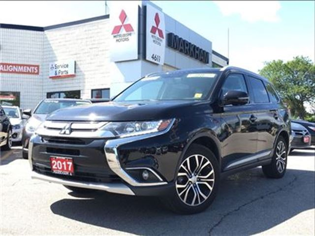 2017 mitsubishi outlander se 0 9 v6 awd roof rails. Black Bedroom Furniture Sets. Home Design Ideas