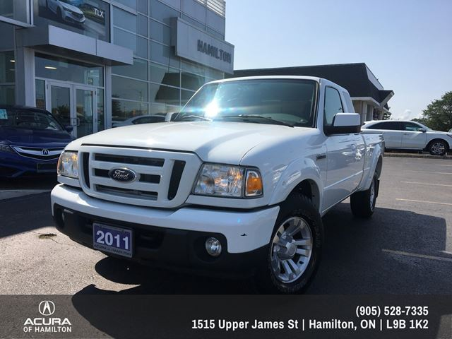 2011 FORD Ranger Sport 4X4 EXTENDED CAB AUTOMATIC! in Hamilton, Ontario