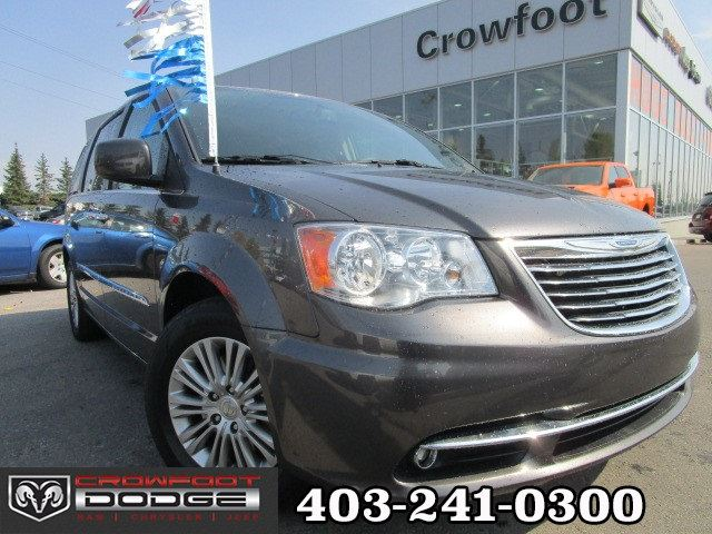 2016 CHRYSLER TOWN AND COUNTRY TOURING-L WITH DUAL DVD in Calgary, Alberta