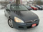 2007 Honda Accord EX-L Navi. Accident & Rust Free Leather Sunroof in Cambridge, Ontario