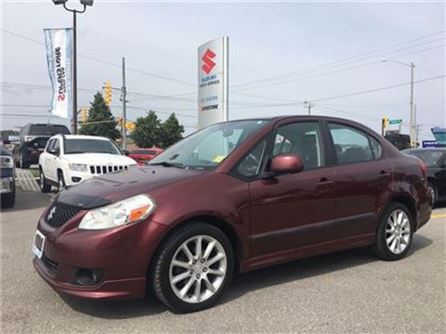 2009 SUZUKI SX4 Sport ~Alloy Wheels ~Hood Deflector ~Strong Value in Barrie, Ontario