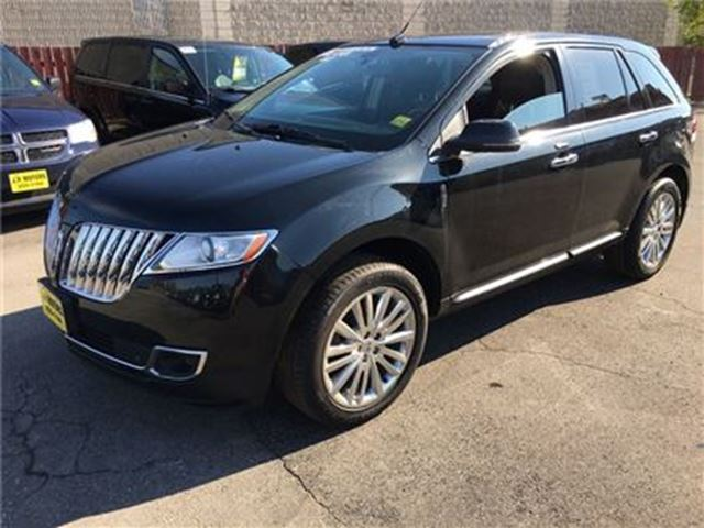 2013 LINCOLN MKX Automatic, Navigation, Leather, Sunroof, AWD in Burlington, Ontario