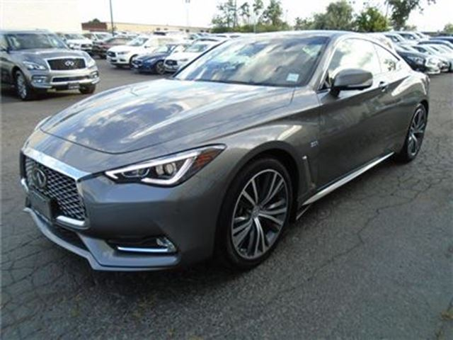 2017 INFINITI Q60 300HP - Tech PKG - DEMO SALE in Mississauga, Ontario