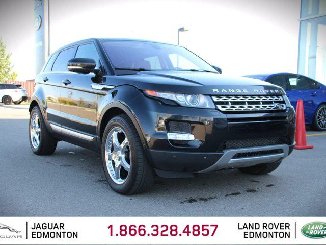 2013 LAND ROVER RANGE ROVER EVOQUE Prestige - Local One Owner Trade In | No Accident Claims | 3M Protection Applied | 2 Sets of Rims and Tires | Softgrain Leather Interior | Navigation | Surround Camera System | Parking Sensors | Park Assist | Adaptive Xenon Headlamps | Panoramic Glas in Edmonton, Alberta