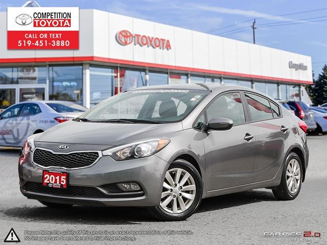 2015 KIA FORTE 1.8L LX One Owner, No Accidents in London, Ontario