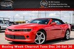 2015 Chevrolet Camaro LT Leather Backup-Camera BlueTooth Heated F-Seats 18 Alloys in Bolton, Ontario
