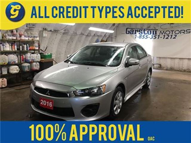 2016 MITSUBISHI LANCER CVT*PHONE CONNECT*TRACTION CONTROL*HEATED SEATS*CL in Cambridge, Ontario