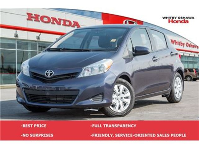 2014 TOYOTA Yaris LE (AT) in Whitby, Ontario