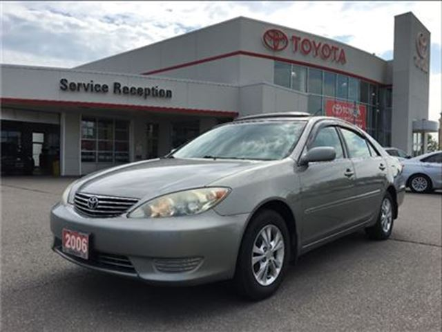 used 2006 toyota camry le bowmanville. Black Bedroom Furniture Sets. Home Design Ideas