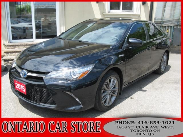 2015 TOYOTA Camry Hybrid SE !!!1 OWNER NO ACCIDENTS!!! in Toronto, Ontario