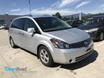 2007 Nissan Quest S A/T Local A/C Cruise Control CD Player Power  in Port Moody, British Columbia