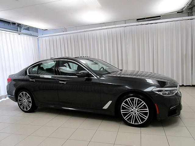 2017 BMW 5 SERIES 530i x-DRIVE M SPORT PREMIUM ENHANCED w/ HEAD U in Halifax, Nova Scotia