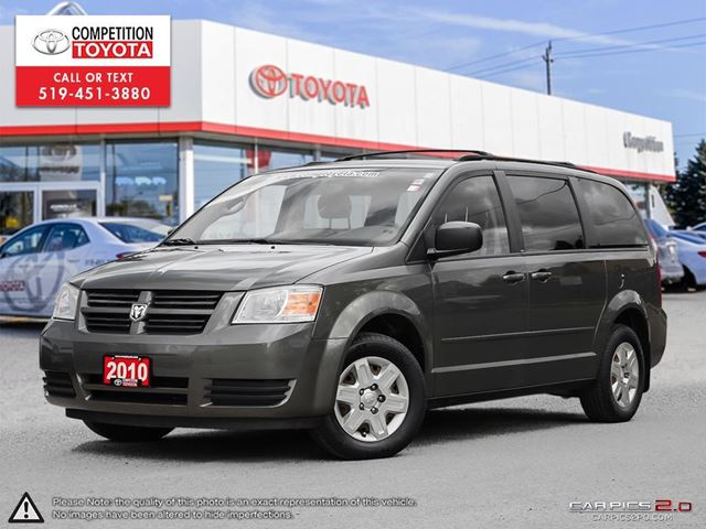 2010 DODGE GRAND CARAVAN SE One Owner, No Accidents in London, Ontario