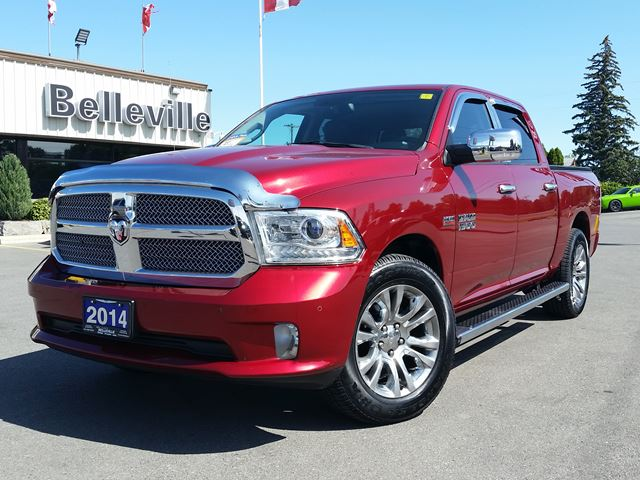 2014 DODGE RAM 1500 Longhorn Limited-sunroof-navigation-back up camera in Belleville, Ontario