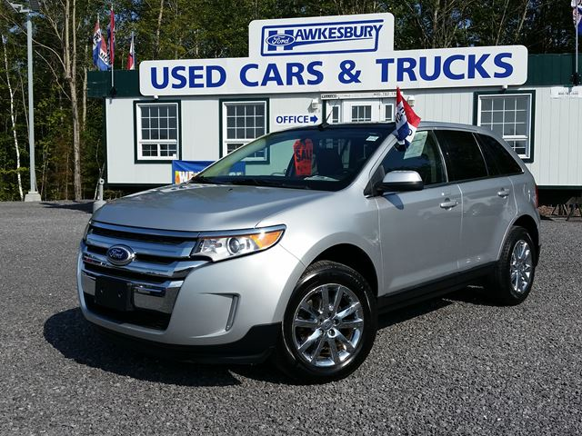2011 ford edge limited silver hawkesbury ford. Black Bedroom Furniture Sets. Home Design Ideas