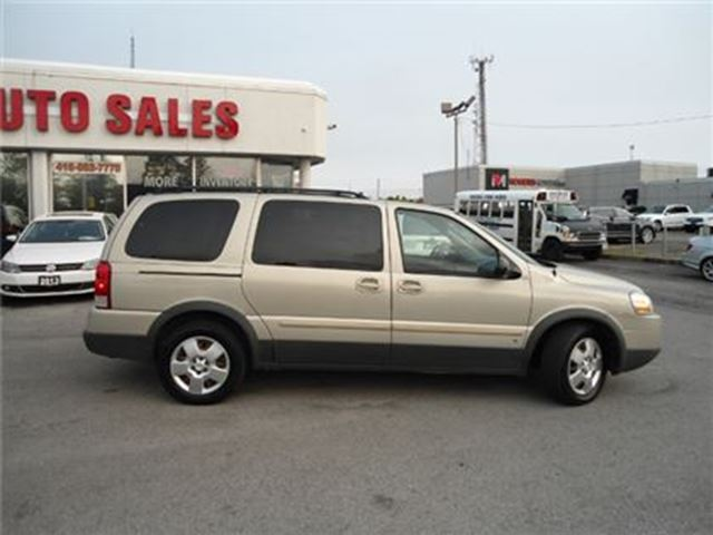 2008 PONTIAC MONTANA SV6 AUTO EXTENDED 7 PASS SAFETY WARRANTY A/C PW PL PM in Oakville, Ontario
