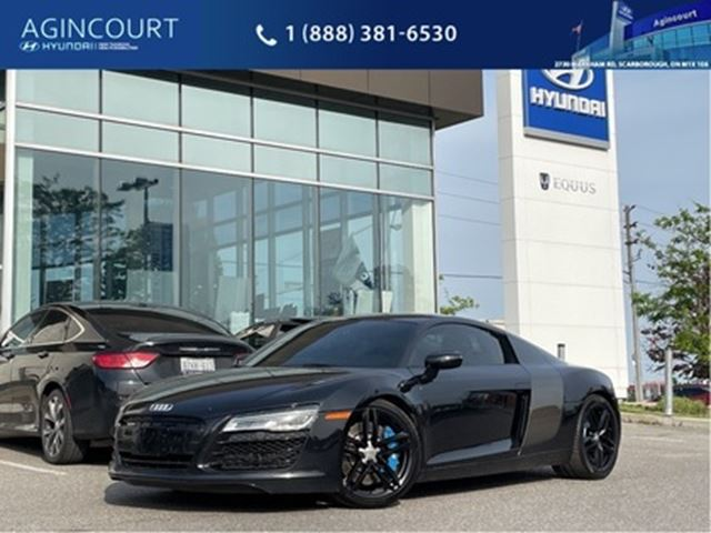 2014 AUDI R8 V8, CLEAN CARPROOF, FLAWLESS!! in Toronto, Ontario