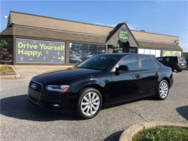 2013 AUDI A4 PREMIUM - QUATTRO / SUNROOF/ LEATHER in Fonthill, Ontario