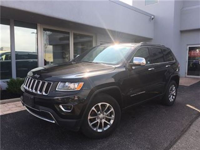 2016 Jeep Grand Cherokee Limited LEATHER...SUNROOF in Simcoe, Ontario