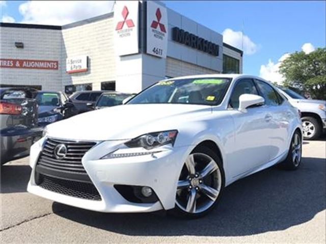 2014 LEXUS IS 350 Base Off Lease! in Markham, Ontario