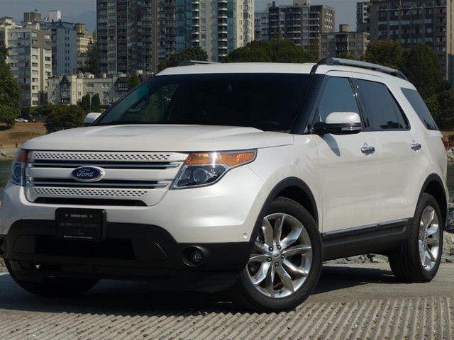 2014 FORD EXPLORER Limited in Vancouver, British Columbia