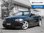 2009 BMW 1 Series 135i Premium Sound Package! Premium Package! Local One owner! Clean Carproof! in Winnipeg, Manitoba