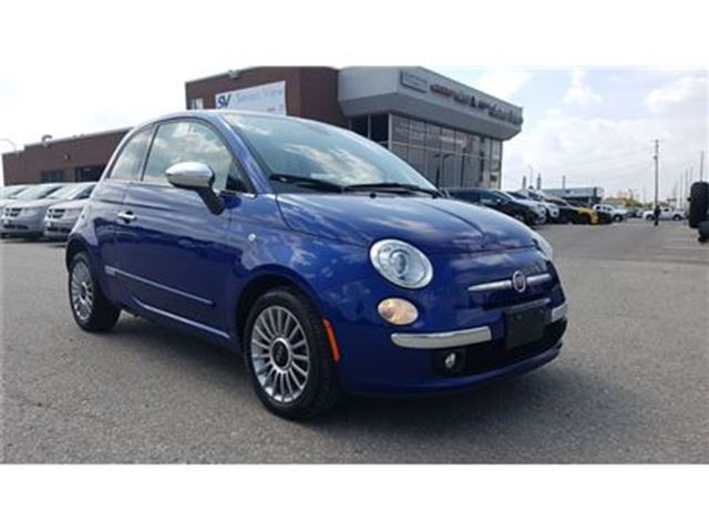 2012 FIAT 500 Lounge Leather, Sunroof in Concord, Ontario